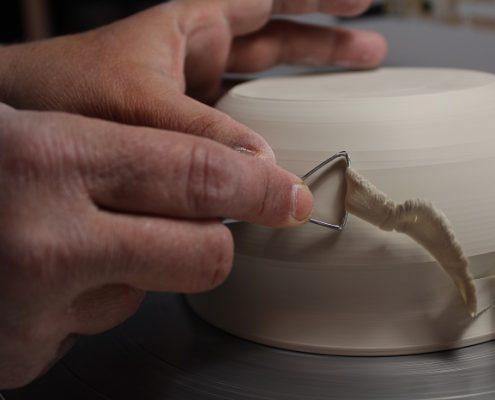 Tournassage bol céramique