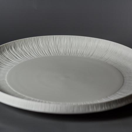 Plat en porcelaine